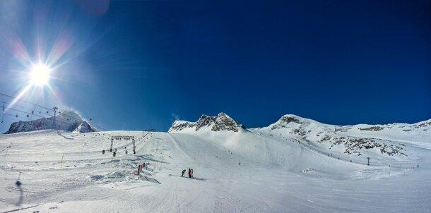 Skifahren - Piste - Symbolbild